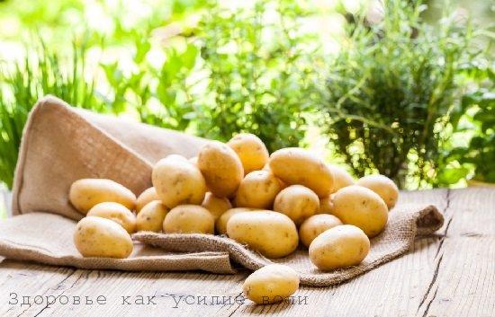 Отварной картофель при лечении сустав алексей ягудин тазобедренный сустав