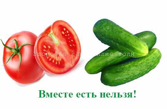 vred pomidorov i ogurcov