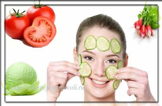 letnie maski dlja lica iz ovoshhej